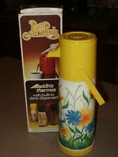 Pump A-Drink Aladdin's Thermos with Built in Drink Dispenser. .97 Liter Capacity