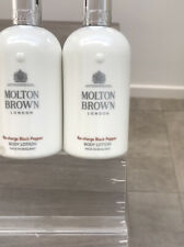 2 X 300 ml Molton Brown Body Lotion  Re-Charge Black-Pepper Total 600ml