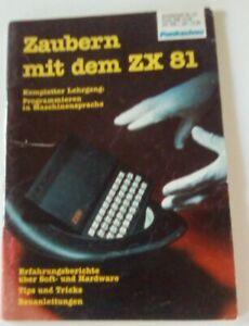 Zaubern mit dem Sinclair ZX81, Funkschau vermutlich 1983,