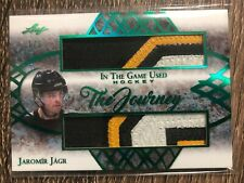Jaromir Jagr 2019-20 In The Game Used The Journey Patch SP #1/3 C'D TJ-07