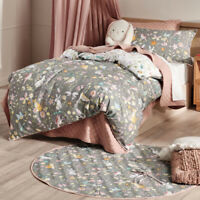 Hiccups Kids Garden Friend Quilt Cover Set | Animals, Butterflies, Cats, Birds