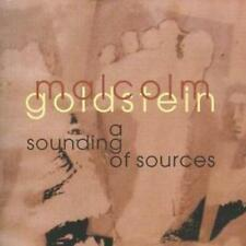 Malcolm Goldstein : A Sounding of Sources CD (2008) ***NEW***