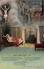 POSTCARD  SONG CARDS  BAMFORTH    The  Holy  City  (2)
