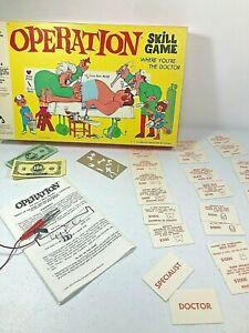 Vintage 1965-1985 Original Operation Game Replacement Parts Milton Bradley