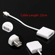 Mini Displayport Display Port To VGA adapter Cable for Apple Macbook PC M-VGA IT