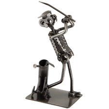 Nuts & Bolts Metal Golfer FOLK ART SCRAP METAL. Great Gift.