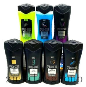 4 AXE Body Wash Soap 400 ml (Choose From Different Scents)