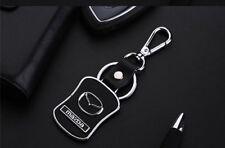 Kezi Alloy Acrylic Car Logo Tri-Tech Fit Ergonomics Gift Keychain For Mazda