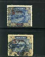 SHIP,-''SAAR RIVER TRAFFIC''  == of =SAARGEBIET-  > OVPTD,variety color 1921