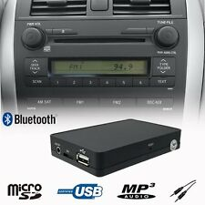 Car Bluetooth USB SD AUX MP3 Player Adapter TOYOTA Camry Previa RAV4 Prius Yaris