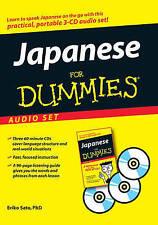 NEW Japanese For Dummies Audio Set by Eriko Sato