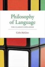 PHILOSOPHY OF LANGUAGE - MCGINN, COLIN - NEW PAPERBACK BOOK