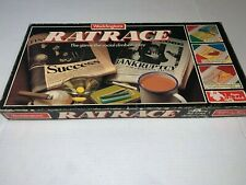Vintage 1980's RAT RACE Board Game 100% COMPLETE GREAT CONDITION WADDINGTONS
