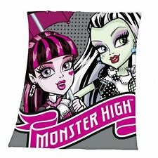 Herding polaire couverture plaid Disney Monster High 125 x 150 CM