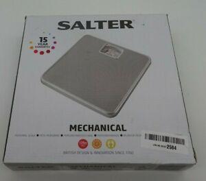 6583 Salter 433SVDR Mechanical Bathroom Scale - Silver