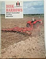 New ListingInternational Harvester McCormick Disk Harrows Brochure