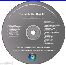 HP & Dell Computers Repair/Recovery & Testing Tools Disc for Window 7,Vista ,XP