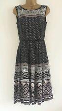 NEW PER UNA M&S 6-12 Aztec Diamond Print Occasion Casual Holiday Summer Dress