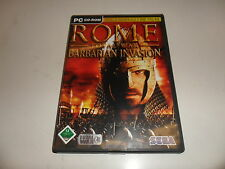 PC Rome: Total War-barbarian invasion (add-on)