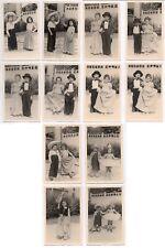 PHOTO LOT 12 Photos Classe de Maternelle École Écolier 1950 Déguisement Couple