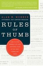 Rules of Thumb: How to Stay Productive and Inspired Even in the Most Turbulent T