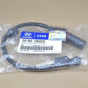 New Crankshaft Position Sensor Fit For Hyundai Kia OEM # 39180-2B000
