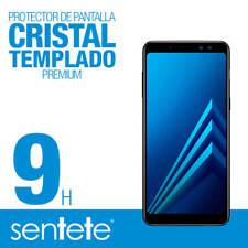 Sentete Samsung Galaxy A8 2018 protector de pantalla cristal templado Premium
