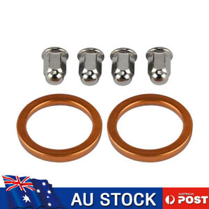 Exhaust Muffler Pipe Gasket For Honda CL100 CL125 CL160 CL175 CL200 GL1500 1800