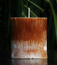 80hr COFFEE BEANS & COCONUT Cafe Scented CANDLE with Vanilla, Almonds, Hazelnuts