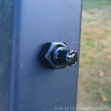 Black Magnetic Fake Bolt End Geocache Container