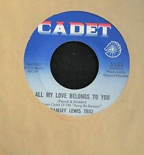 Ramsey Lewis Trio Cadet 5525 All My Love Belongs To You and Hard Days Night
