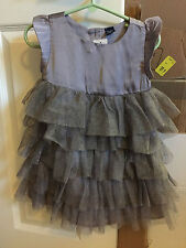 NWT baby Gap Holiday Dress Purple Lavender Sparkle Tulle
