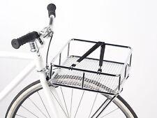 NEW BASKET BIKE RACK PANIER PORTEUR BLB TAKE AWAY CHROME FRONT BICYCLE TRAY