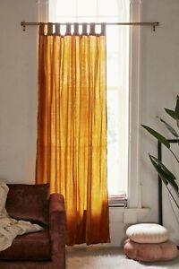 Crushed Velvet Window Curtain Boho Room Decor Hippie Curtain Rich Home Interior