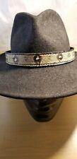 Western cowboy cowgirl Real BOA snake skin hat band band adjustable python NWOT