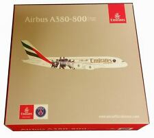 Maquette AIRBUS A380 Emirates Equipe Football du PSG PARIS SAINT GERMAIN 1/500