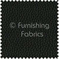 Recycled Eco Genuine Real Leather Hides Cuts Premium Upholstery Fabric - Black