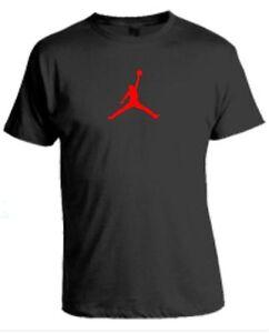 BASKETBALL T-Shirt Michael Jordan Unofficial Unisex RED Mens