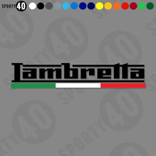 LAMBRETTA ITALIA - Vinyl Decal / Sticker - Scooter Lambretta Piaggio 8378-0119