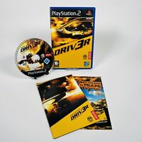 Driver 3 Video Game for Sony PlayStation 2 PS2 PAL Tested and Working