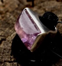 PIANEGONDA RING  AMETHYST  ITALY HUGE ROCK STAR RARE SOLD OUT SIZE 6.5 - 7