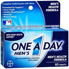 One-A-Day Men's Health Formula Tablets 60 Tablets