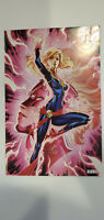 Captain Marvel #7 SDCC J Scott Campbell Glow In The Dark Cover (NM)