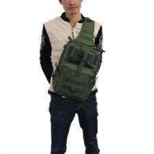 Tactical Sling Chest Bag Backpack Molle Assault Outdoor Shoulder Messenger Pack