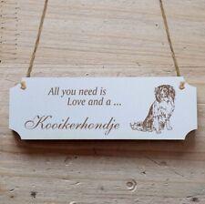 Türschild Dekoschild « Nederlandse Kooikerhondje » Hund