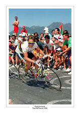 GREG LeMOND Tour De France 1990 A4 Photo Armerica
