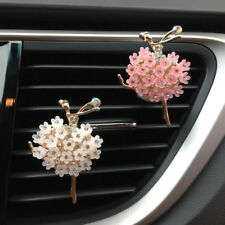 Cute Car Perfume Clip Air Outlet Fragrant Ballet Girl Styling Freshener Diffuser