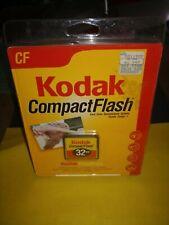 Kodak Genuine 32MB CF Compact Flash Camera Memory Card