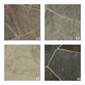 PVC Boden Bruchstein  CV Vinylboden Musterversand Muster 20 cm x 30 cm