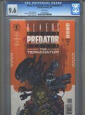 Aliens vs. Predator vs. the Terminator #1, 2, 3, & 4 CGC 9.6 (2000) Complete Set